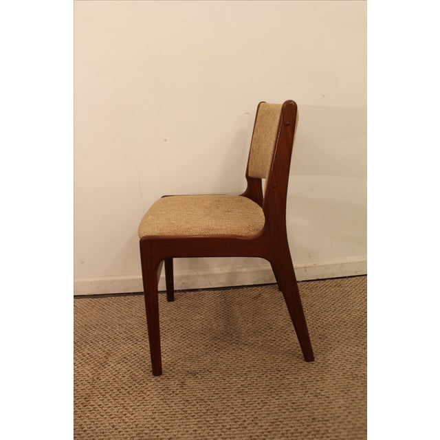 Hans Wegner Style Teak Dining Side Chair - Image 5 of 7