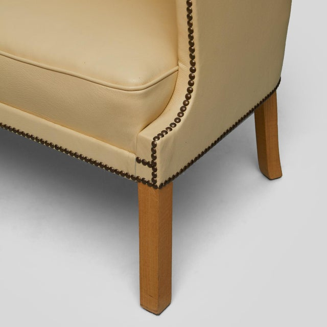 Wood Frits Henningsen Settee For Sale - Image 7 of 9