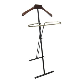 Two French Mid-Century Modern Personal Valets / Coat Stands For Sale