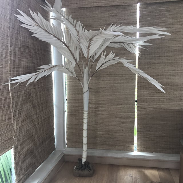 Red Palm Canvas Tree For Sale In Los Angeles - Image 6 of 6