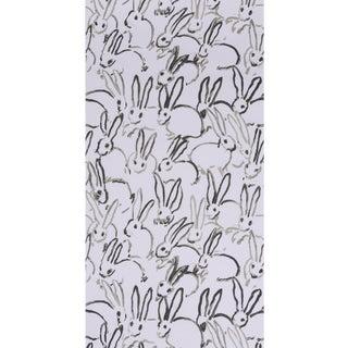 Hunt Slonem for Lee Jofa, Hutch Wallpaper Roll, Lavender, 10 Yards For Sale