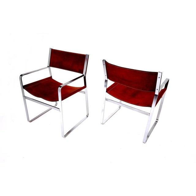 Pair of Hans Wegner Chairs for Johannes Hansen For Sale - Image 5 of 6
