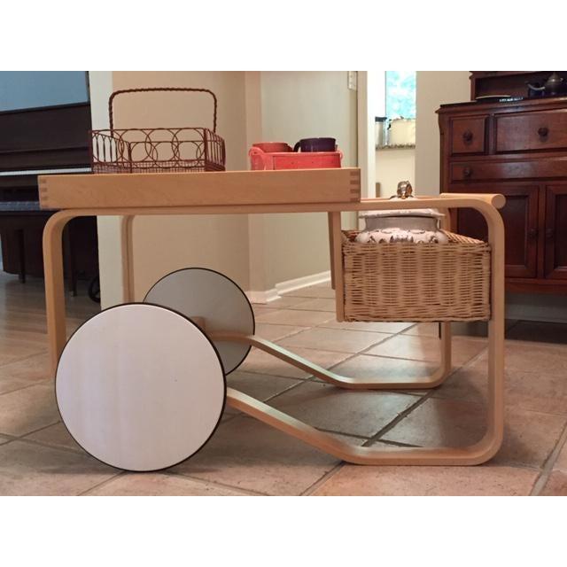 Wood Alvar Aalto Tea Trolley 900 For Sale - Image 7 of 10