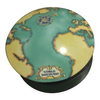 Tiffany Trinket Porcelain Box Designed Exclusively for Tauck