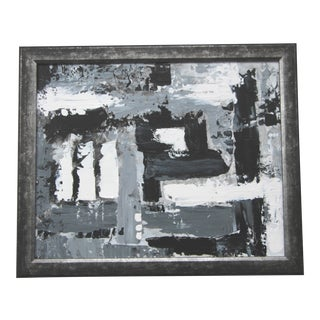 Abstract Textured Painting by Celeste Plowden For Sale
