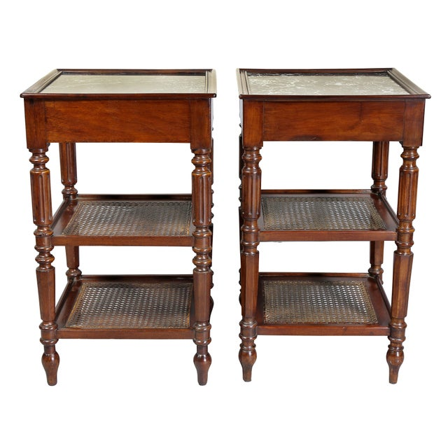 Matching Charles X Mahogany End Tables - a Pair For Sale - Image 11 of 12