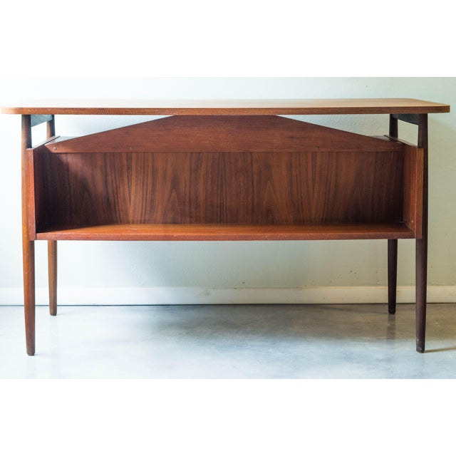 Vintage Danish Maurice Villency Mid-Century Desk Table - Image 3 of 8