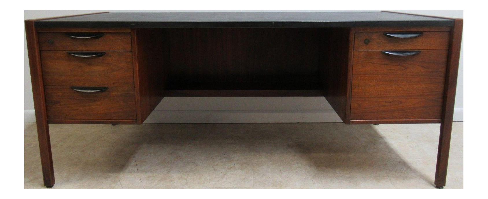 Jens Risom Design Mid Century Office Desk