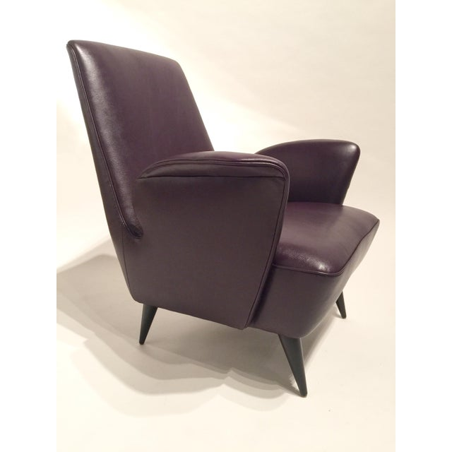 Italian Leather Armchairs - A Pair - Image 4 of 8