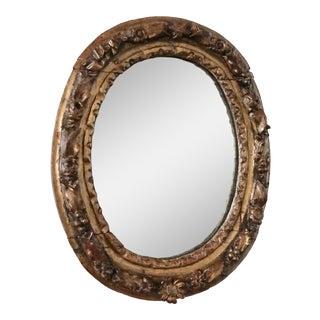 Spanish Colonial Della Robbia Mirror For Sale