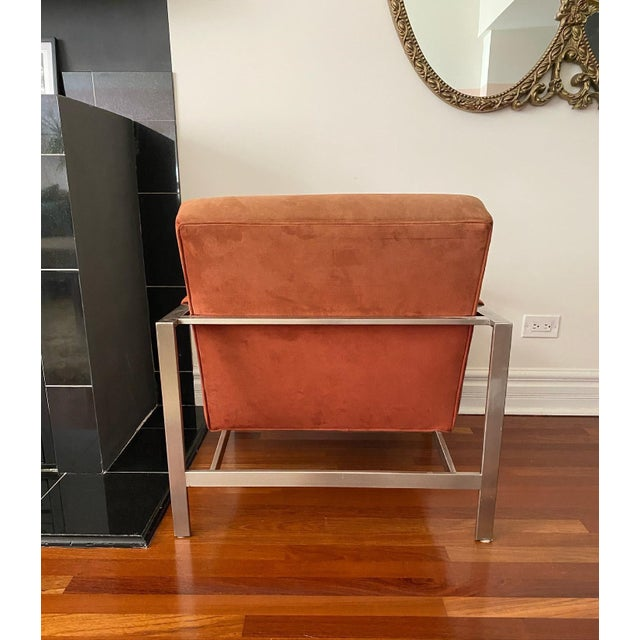 Milo Baughman for Thayer Coggin the 1937 Armchair For Sale In Chicago - Image 6 of 9