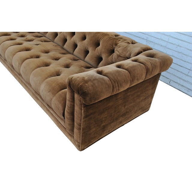 1960s Mid Century Vintage Wormley Dunbar Party Sofa For Sale - Image 5 of 7