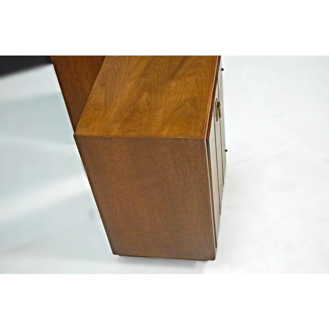 Mid-Century Modern Walnut Nightstands - A Pair For Sale - Image 9 of 9