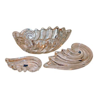 Mikasa Nautilus Dish Group - Set of 3 For Sale