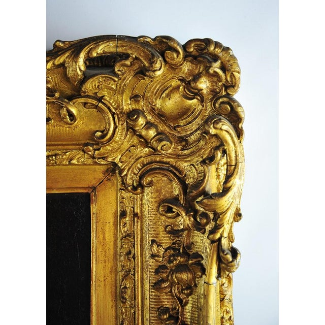 """19th Century Portrait of an English Gentleman in Ornate Gilt Frame - 28.25"""" x 36"""" For Sale - Image 11 of 11"""