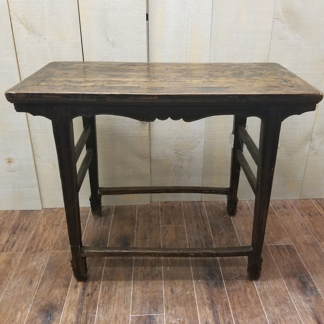 Mid 19th Century 1860 Chinese Shanxi Province Wine Table For Sale - Image 5 of 5