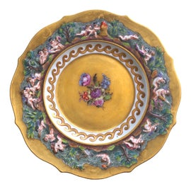 Image of Gold Leaf Decorative Plates