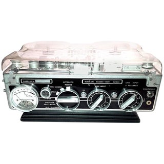 "Circa 1966 Motion Picture Audio Recorder Model ""Nagra III"". Display As Vintage Sculpture."