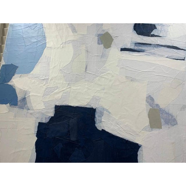 """""""Ruminating"""" Contemporary Collage Abstract on Canvas by Judith Williams For Sale In Atlanta - Image 6 of 8"""