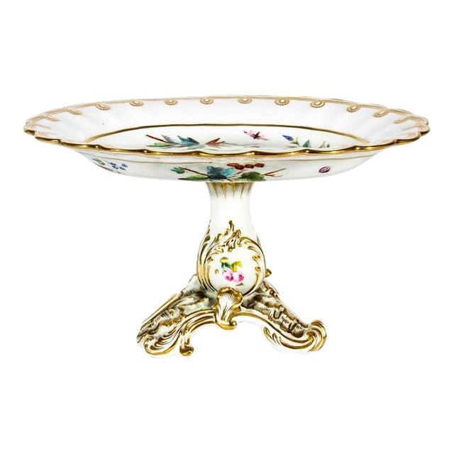 Antique French Porcelain Serving Piece For Sale