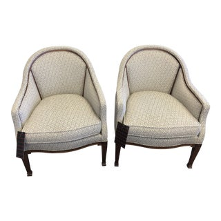 Modern Hickory Chair Avondale Chairs- a Pair For Sale