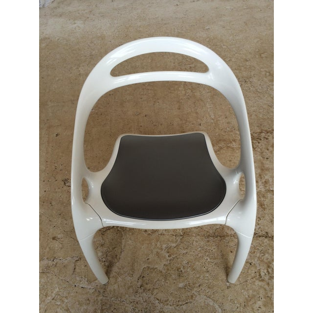 "Ross Lovegrove White Lacquer ""Go"" Chair - Image 5 of 6"