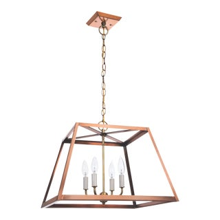 Lantern & Scroll Hampton Dunes Pendant, Copper For Sale