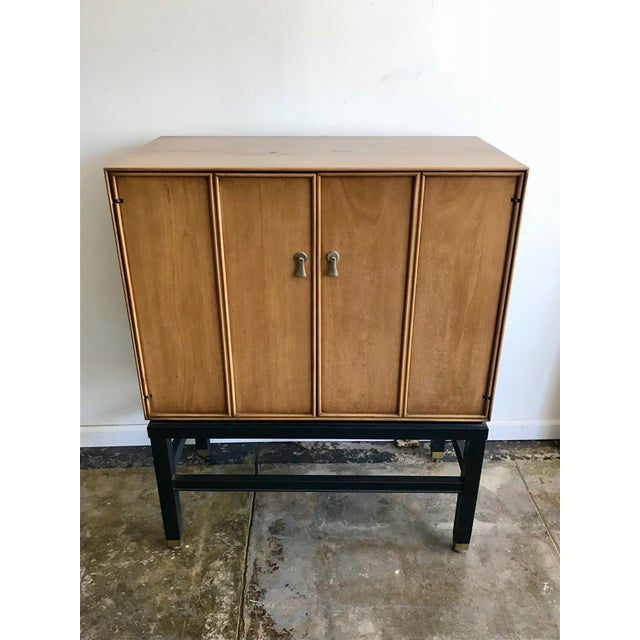 Tan 1960s Mid-Century Bar Sanford Furniture Co Permacraft Cabinet For Sale - Image 8 of 8