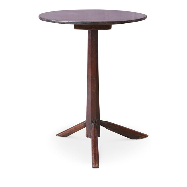 English Traditional Unconventional Vintage Side Table For Sale - Image 3 of 8