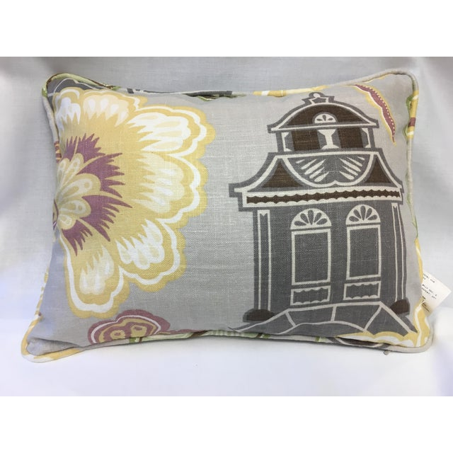 Asian Kyoto Imperial Treasure Collection Pillow For Sale - Image 3 of 3