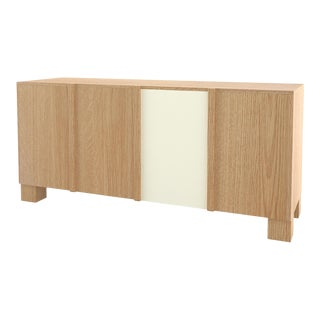 Contemporary 100 Storage in Oak and White by Orphan Work, 2019 For Sale