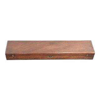 20th Century Traditional Mahogany Box For Sale