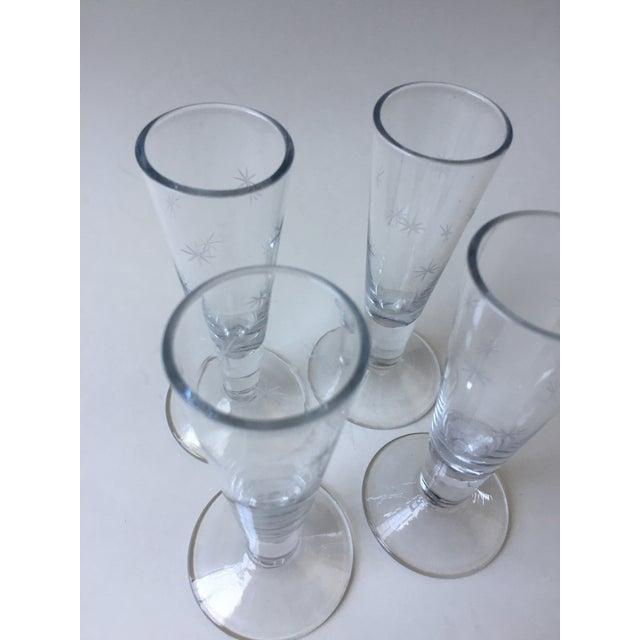 Vintage Mid-Century Shot Glasses - Set of 4 - Image 7 of 9