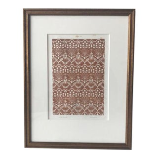 Framed Vintage Parisian Bookplate Print