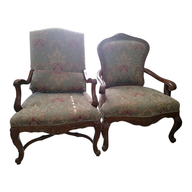 Bernhardt Living Room Chairs - A Pair For Sale