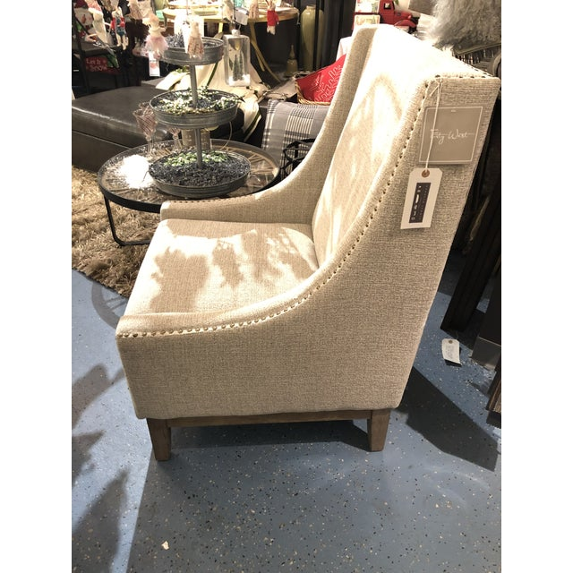 White Forty West Jasmine Occassional Chair For Sale - Image 8 of 10