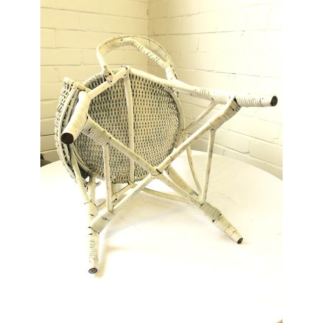 Early 20th Century Wicker Child's Chair For Sale - Image 9 of 13