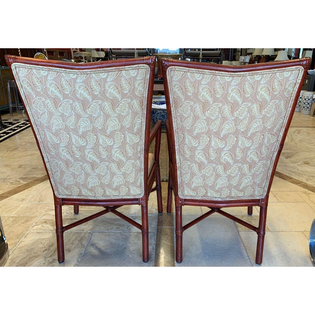 Mid-Century Modern Orlando Diaz-Azcuy McGuire Cambria Chairs - a Pair For Sale - Image 3 of 10