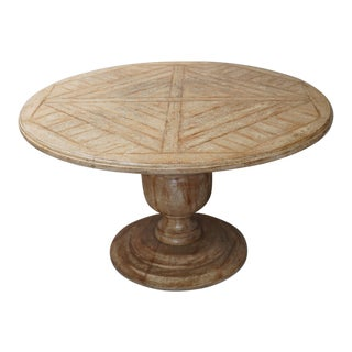 Charles Pollock Rustic Dining Table For Sale