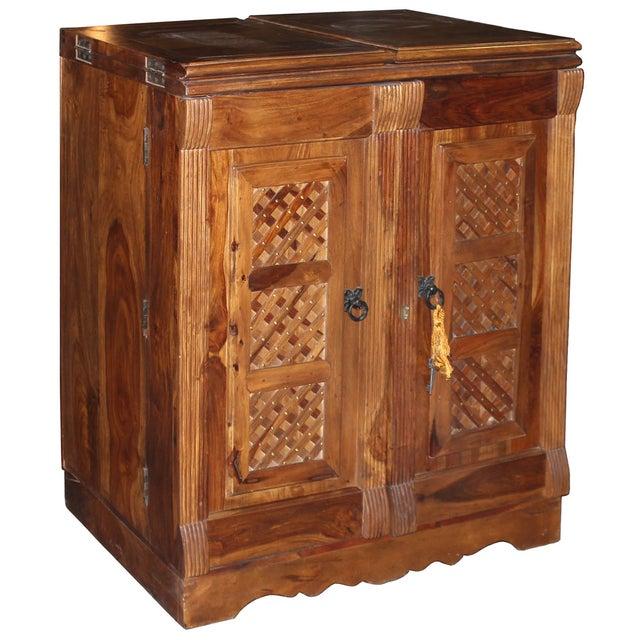 Mango Wood Bar Cabinet - Image 2 of 10