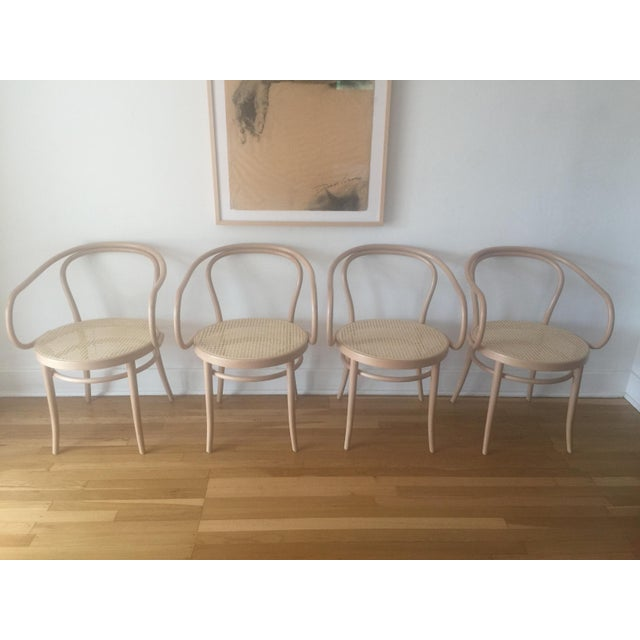 Thonet B9 Cane Armchairs - Set of 4 - Image 2 of 5