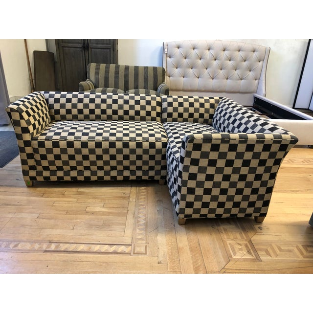 Design Plus Gallery presents a 2-Piece Sectional by A.Rudin. This set was custom and can be showcased together or...