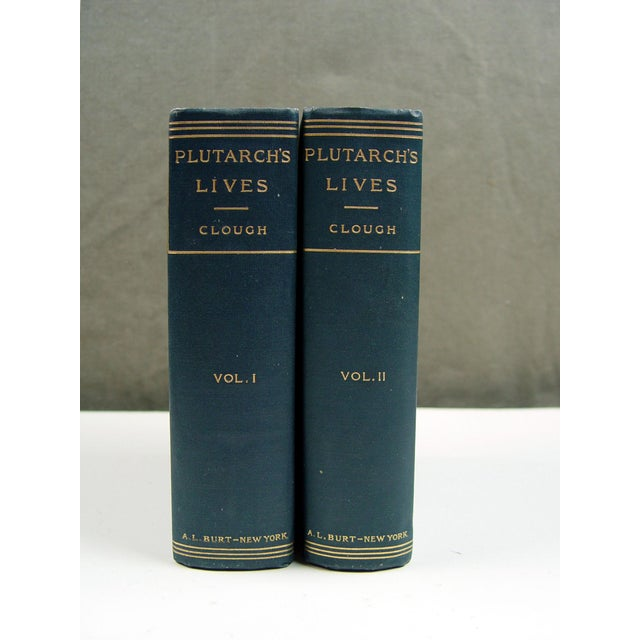1900 Plutarch's Lives Books- A Pair - Image 2 of 5