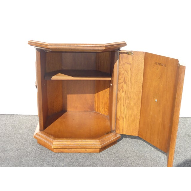 Drexel Heritage 1960s Mid-Century Modern Drexel Heritage End Table For Sale - Image 4 of 9