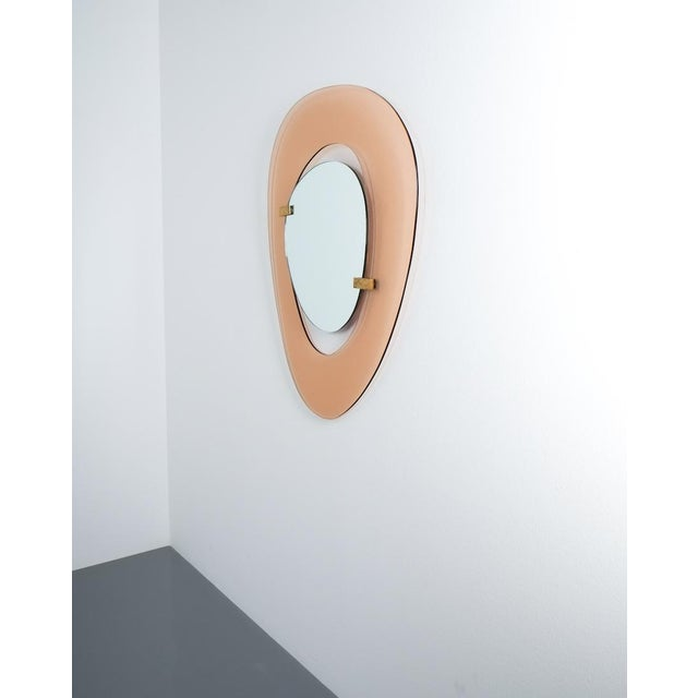 1950s Fontana Arte Mirror by Max Ingrand, Italy Circa 1958 For Sale - Image 5 of 8