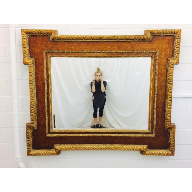 Vintage Gilt Frame Beveled Mirror | Chairish