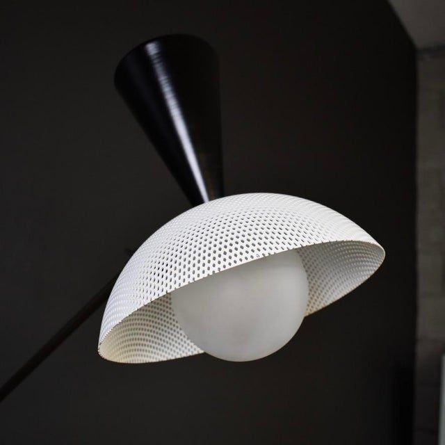 Not Yet Made - Made To Order Molto Wall-Mount Reading Lamp in Bronze & Enameled Mesh by Blueprint Lighting For Sale - Image 5 of 9