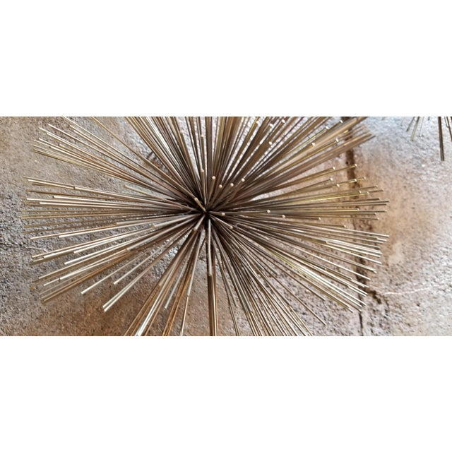 Abstract Curtis Jere Pom Pom Brutalist Metal Wall Sculpture For Sale - Image 3 of 10