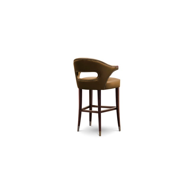 Modern Nanook Counter Stool From Covet Paris For Sale - Image 3 of 4