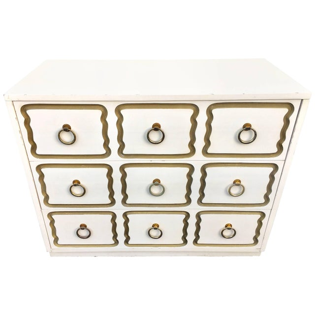 Dorothy Draper Espana Style Hollywood Regency Chest For Sale - Image 11 of 11